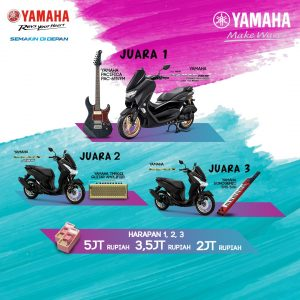 Banner Hadiah NMAX Jingle Competition